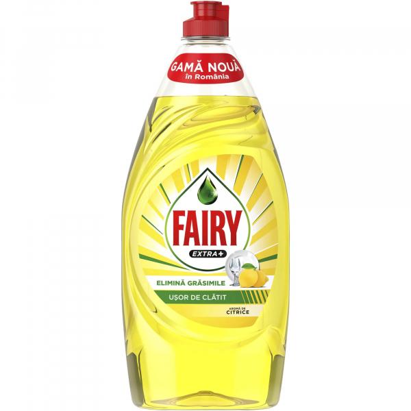 Detergent vase Fairy Extra + Citrice, 900 ml [0]