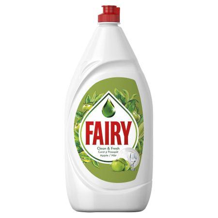 Detergent vase Fairy Clean & Fresh Apple, 800 ml [0]