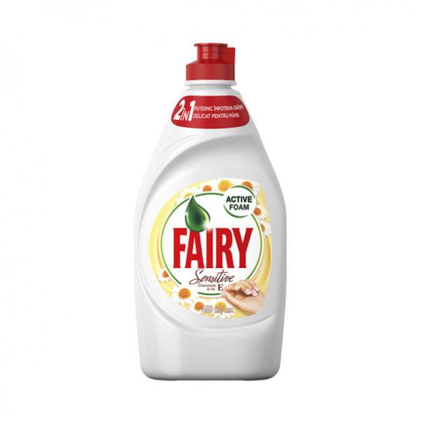 Detergent vase Fairy Sensitive Chamomile & Vitamin E, 450 ml [0]
