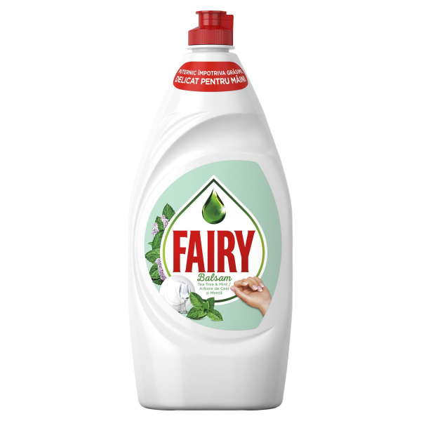 Detergent vase Fairy Sensitive Tea Tree & Mint 800 ml 0