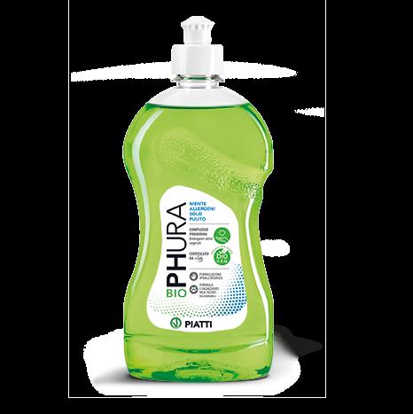 Detergent de vase lichid, Biophura, 500ml [0]