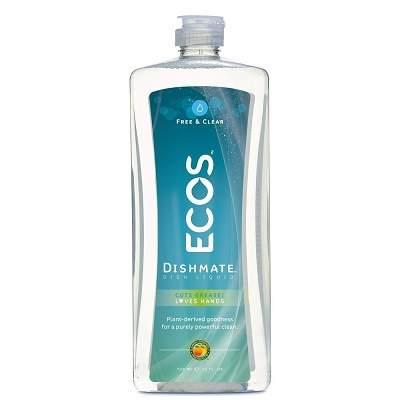Detergent Vase si Biberoane fara miros, Ecos, 739ml [0]