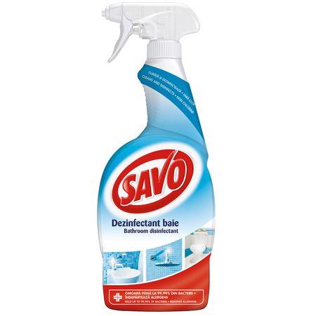 Spray dezinfectant pentru baie, Savo,  650 ml [0]