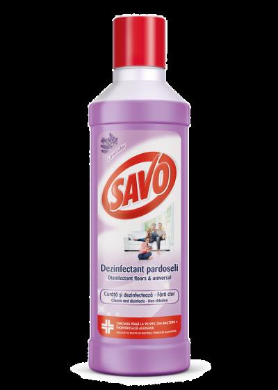 Dezinfectant fara clor pentru pardoseala, SAVO, 1L [0]