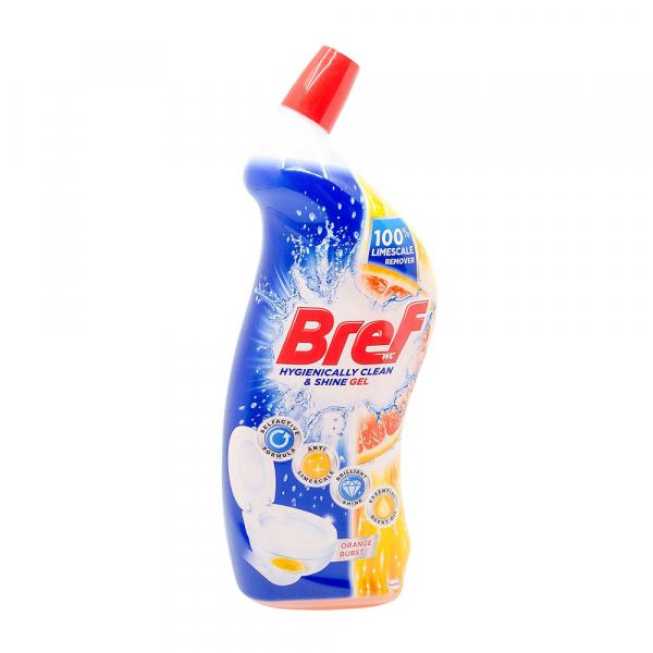 Dezinfectant toaleta Bref Gel Orange Burst 700 ml 0