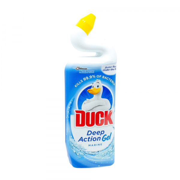 Dezinfectant toaleta gel Duck Deep Action Gel Marin, 750 ml 0