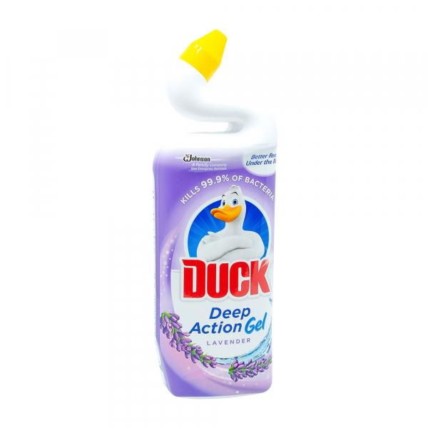 Dezinfectant toaleta gel Duck Deep Action Gel Lavanda, 750 ml 0