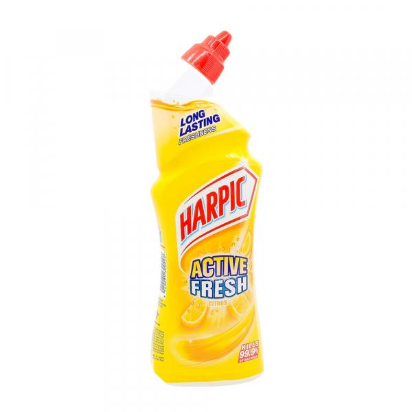 Dezinfectant toaleta Harpic Active Fresh Citrus, 750 ml 0