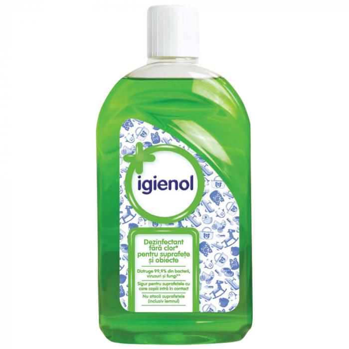 Dezinfectant universal fara clor Igienol, Pine Fresh, 1 L [0]