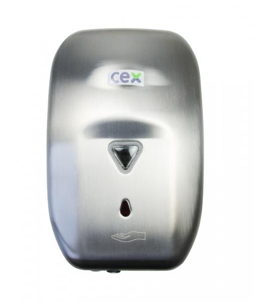 Dispenser sapun lichid cu senzor, din inox lucios, 1200 ml 1