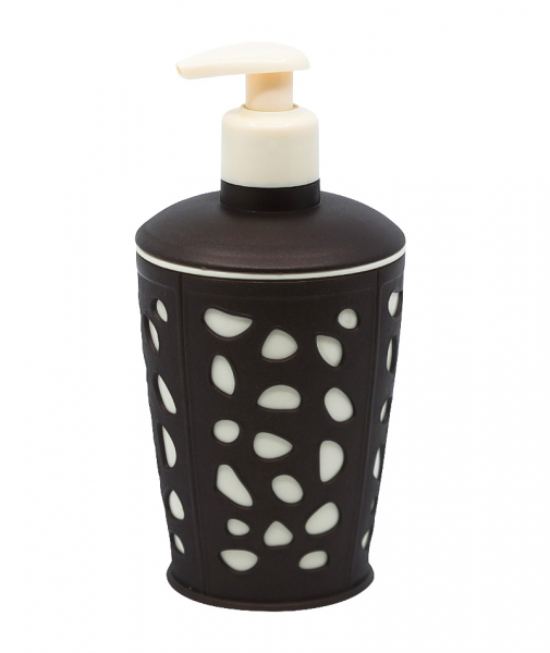 Dispenser sapun lichid, maro, Rock [1]