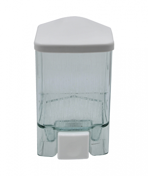 Dispenser sapun lichid, verde transparent, 0,5 l 0