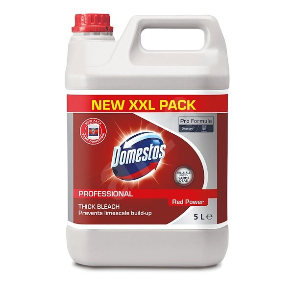 Domestos Red Power, dezinfectant, 5L 0