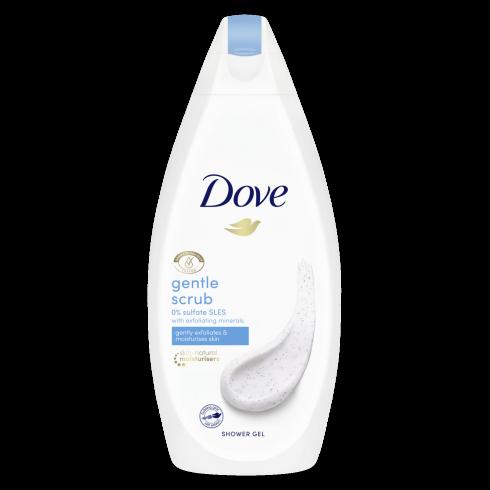 Dove - Gel de dus nutritiv Gentle Scrub, 500 ml 0