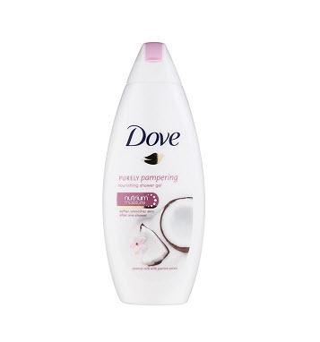 Dove - Gel de dus Purely Pampering Coconut, 250 ml 0