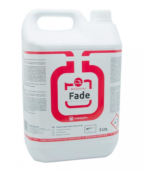 Solutie concentrata pentru curatare resturi de ciment Fade, 5 L 0