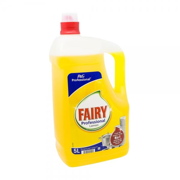 Detergent vase Fairy Professional Lemon, 5L 0