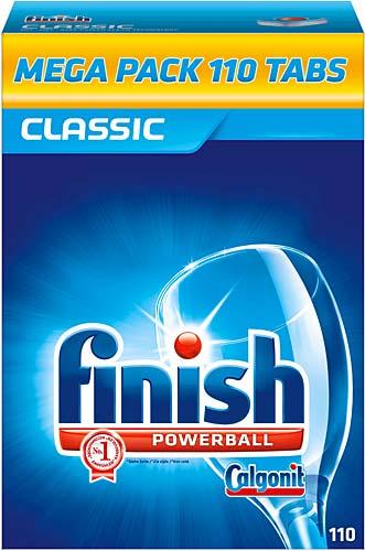 Finish Classic detergent pentru masina de spalat vase, 110 tablete 0
