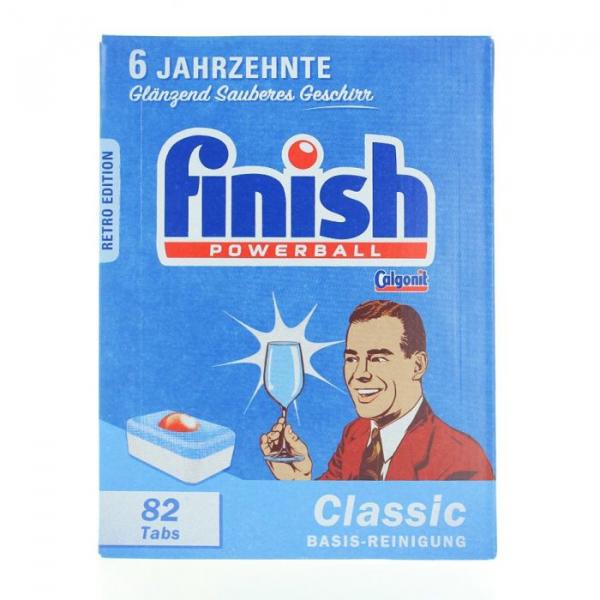 Finish Classic detergent pentru masina de spalat vase,Retro Edition, 82 tablete 0