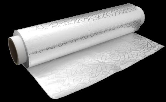 Folie de aluminiu groasa, embosata, 13 microni, 29 cm, 900 gr [0]