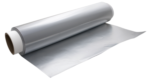 Folie de aluminiu pe rola, 29 cm, 9 microni, 150 m [0]