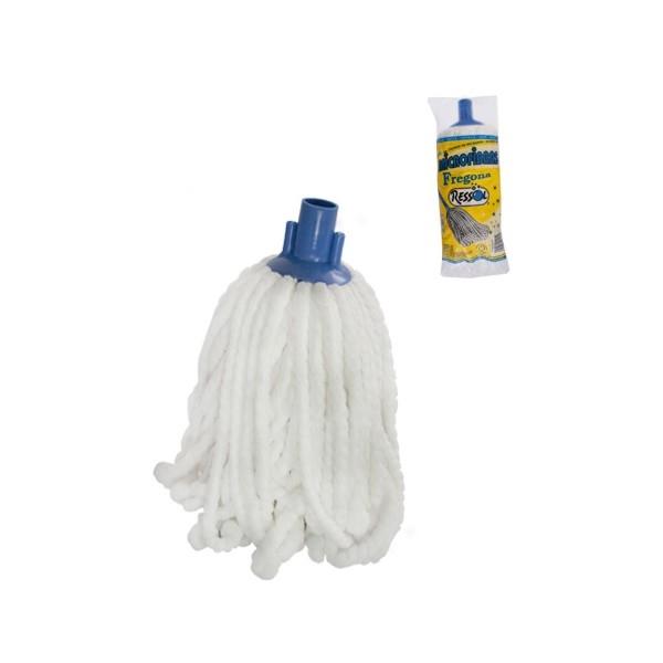 Mop microfibra alb cu fir gros, rasucit [0]