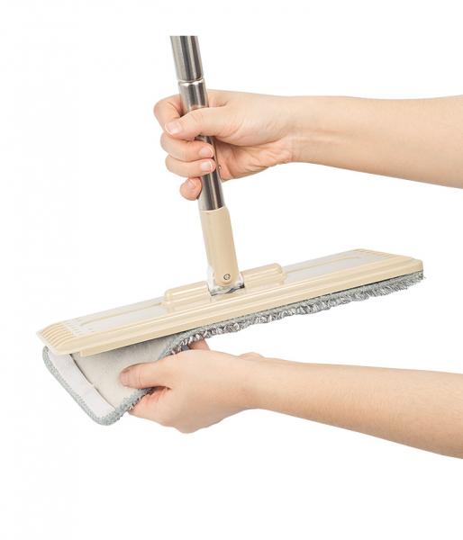 Galeata cu mop plat 40 cm, Tablet, cu 2 compartimente, 10 L (2*5L) 3