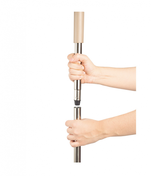 Galeata cu mop plat 40 cm, Tablet, cu 2 compartimente, 10 L (2*5L) 2