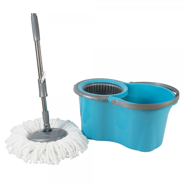 Galeata cu mop rotativ, Original Mini, turcoaz, 14 L 0