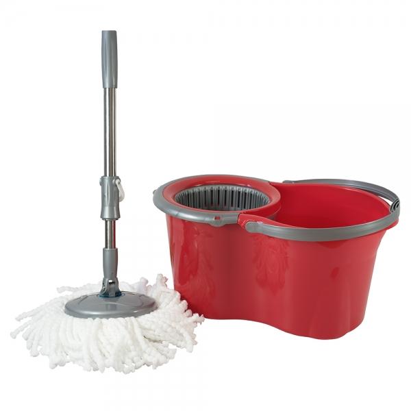 Galeata cu mop rotativ, Original Mini, rosie, 14 L [0]