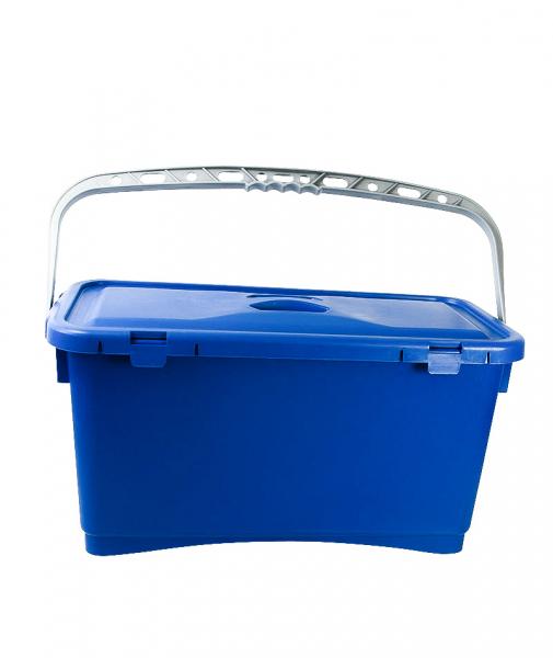 Galeata pentru spalare geam cu capac, albastra, 25 L 1
