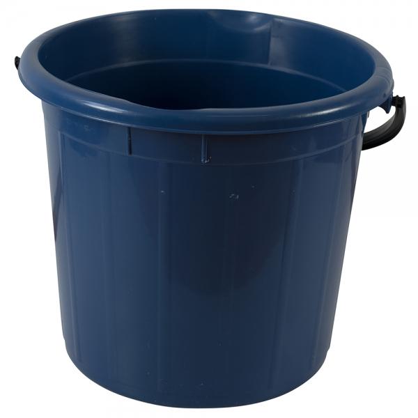 Galeata rotunda fara capac, 20l, albastra 0