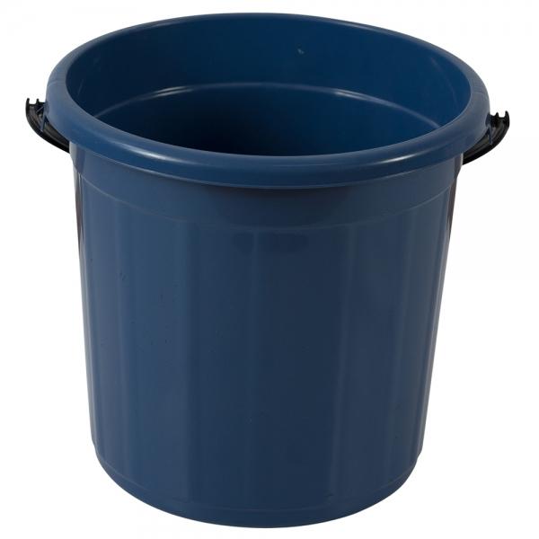 Galeata rotunda fara capac, 5l, albastra 0