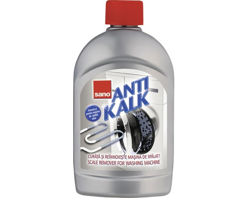 Solutie anticalcar pentru masina de spalat, Sano Anti Kalk, 500 ml 0
