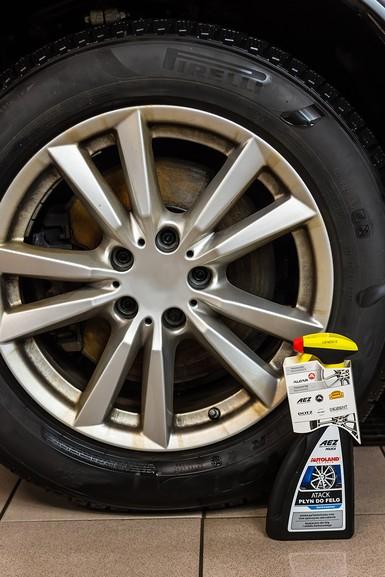 Solutie curatat jante si capace, Atack Wheel Cleaner, Autoland, 700 ml 1