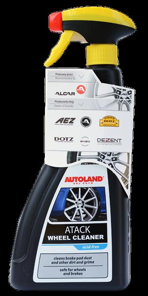 Solutie curatat jante si capace, Atack Wheel Cleaner, Autoland, 700 ml 0