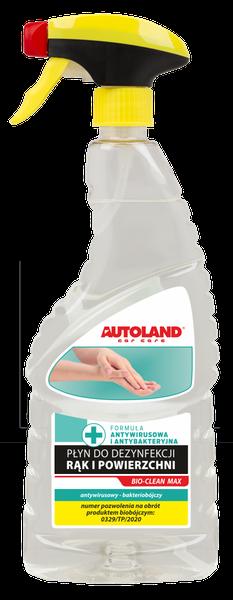 Igienizant universal pentru maini si suprafete, Bio-Clean Max, Autoland, 750 ml 0