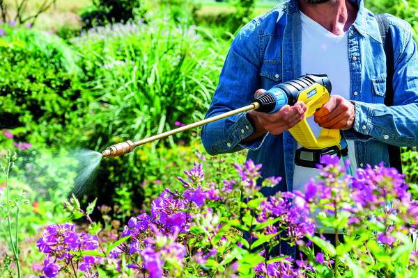 GLORIA MultiJet 18V - accesoriu pulverizare plante 2