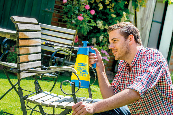 GLORIA  Pulverizator Spray&Paint Compact 1,25L 3