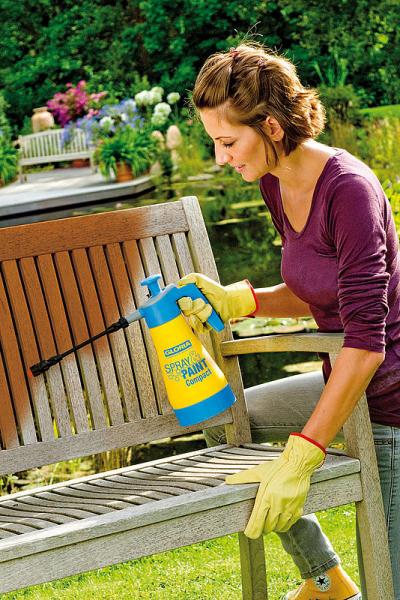 GLORIA  Pulverizator Spray&Paint Compact 1,25L 1