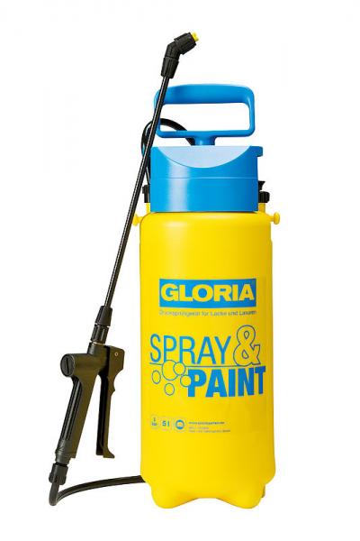 GLORIA  Pulverizator Spray&Paint, 5L 0