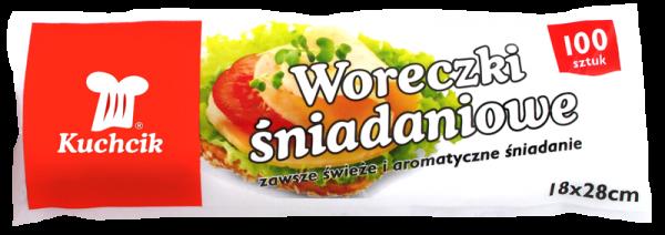 Pungi alimentare pentru sandwich, 18x28 cm, 100 buc. [0]
