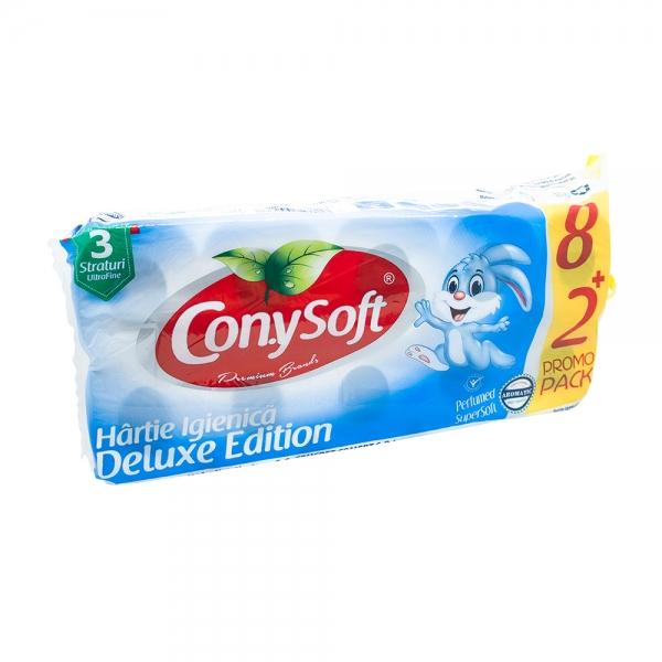 Hartie igienica ConySoft, 3 straturi, 10 role, parfumata 0