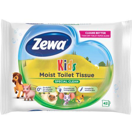 Hartie igienica umeda Zewa Kids, 42 buc [0]