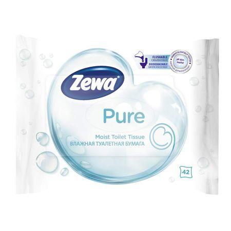 Hartie igienica umeda Zewa Pure, 42 buc [0]
