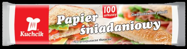 Hartie impachetat alimente Kuchcik, 100 coli/set 0