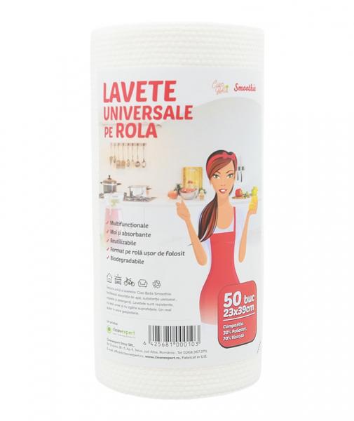 Lavete universale pe rola Ciao Bella, Smoothie, 50 buc/ rola 0