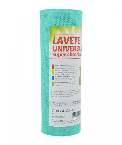 Lavete universale pe rola, Ciao Bella 25 buc pe rola, verde 1