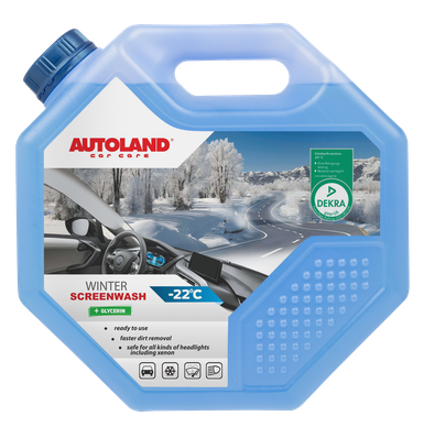 Lichid parbriz iarna, -22°C, Autoland, 4.5 L 0