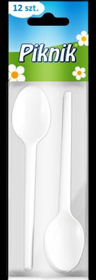 Lingurite unica folosinta, Piknik, 12 buc/set [0]